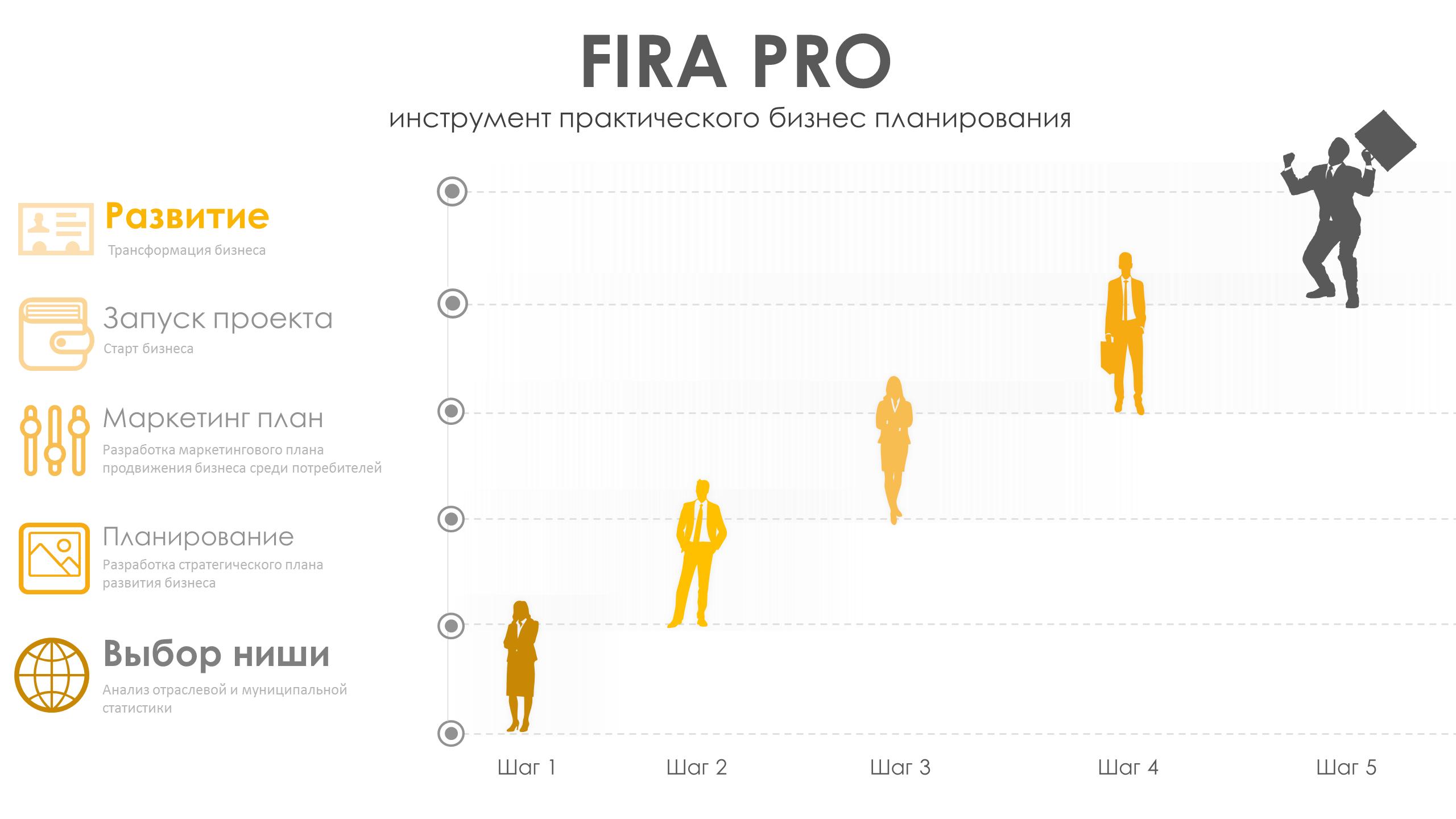 FIRA PRO-инструмент практического бизнес планирования